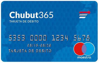 Banca personal tarjeta de d bito chubut 365 banco del - Habilitar visa debito para el exterior ...
