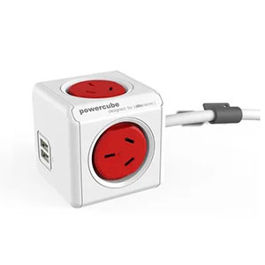 PROLONGADOR ELÉCTRICO CON USB - 1,5 MTS POWER CUBE